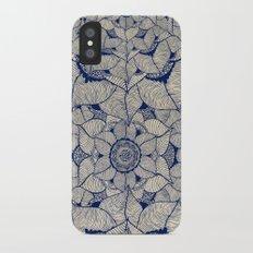 Blue Nature iPhone X Slim Case