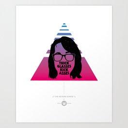 The Reverb Junkie Art Print