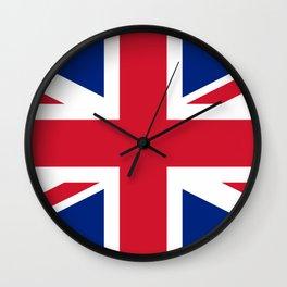 Flag of United Kingdom. Wall Clock