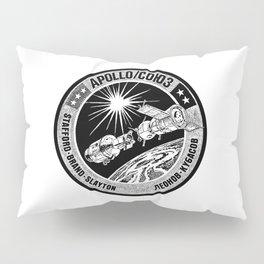 Apollo 18 Soyuz 19 docking mission American crew insignia, - USA-USSR -1975-Space Exploration Pillow Sham