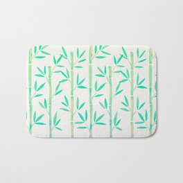 Bamboo Stems – Mint Palette Bath Mat