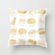 Cheese Revamp Throw Pillow