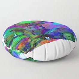 Glowing Poetry Floor Pillow
