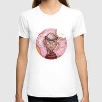 freddy krueger T-shirts featuring Freddy Doughnut by ajd.abelita