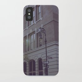 Greenwich Village iPhone Case