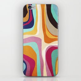 Psychedelic pattern 01 iPhone Skin