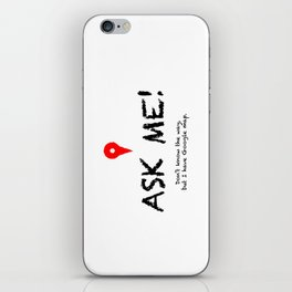 Ask me the way! -- Guide to first month New Yorker iPhone Skin