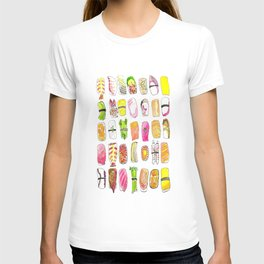 Sushi Watercolor-- Nigiri Sushi T-shirt