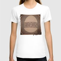 eggs T-shirts featuring Eggs by brit eddy