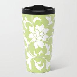 Oriental Flower - Daiquiri Green Travel Mug