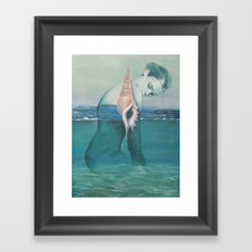Amphibious Framed Art Print