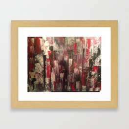 Graffitis Framed Art Print