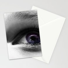 The Universe in her Eyes Stationery Cards