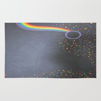 prism Area & Throw Rugs featuring Prism by kaylinicole