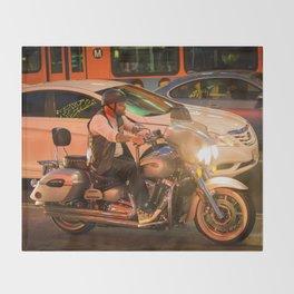 Moto Los Angeles Throw Blanket