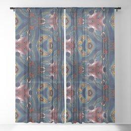 hex Sheer Curtain