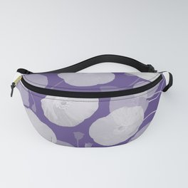 Ultra Violet Floral Abstract. Pantone Color of the Year 2018 Fanny Pack