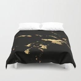 Black Marble #5 #decor #art #society6 Duvet Cover
