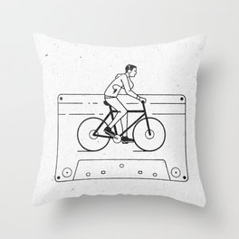 Welcome to Your Tape (Alternate Version) Throw Pillow