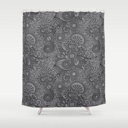 FLOR-ISH Shower Curtain