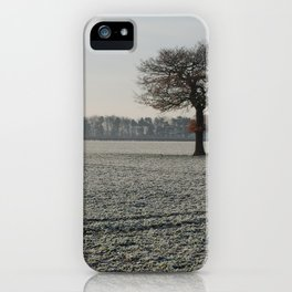 Winter in Yorkshire iPhone Case