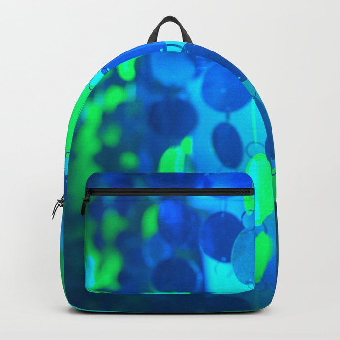 UNDERWATER GLAM CIRCLES #Blue #2 Backpack