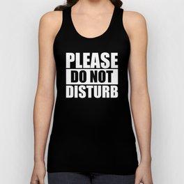 Do Not Disturb Unisex Tank Top
