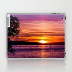 Sunset Over the Beach  Laptop & iPad Skin