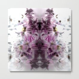 Enchanted floral Metal Print
