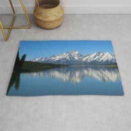 Jackson Lake and Grand Teton Refection Rug