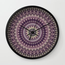 Mandala DCV Wall Clock