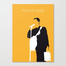 No064 MY TALKING HEADS Minimal Music poster Canvas Print