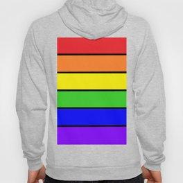 RAINBOW stripes Hoody