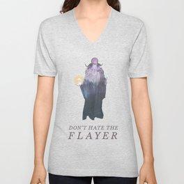 Mind Flayer (Typography) Unisex V-Neck