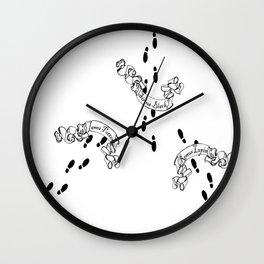 Mischief Managed Wall Clock