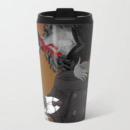 Demoiselle Crane and Grey Crowned Crane Travel Mug