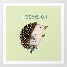 Hedgejog Kunstdrucke