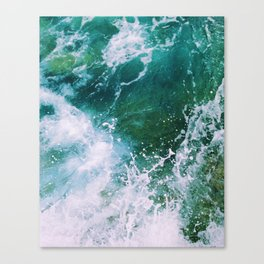 Waves pt. 2 Canvas Print