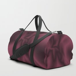 Burgundy silk Duffle Bag