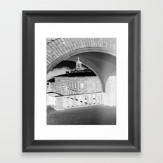Curves Framed Art Print