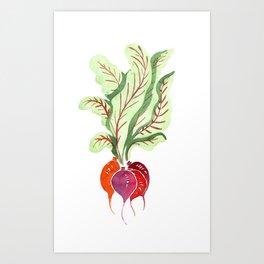 Beetroots Art Print