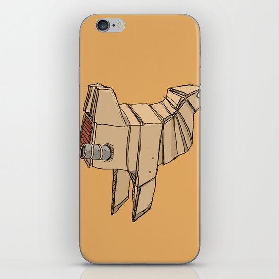 Space Chicken iPhone & iPod Skin