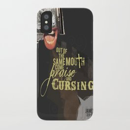 Out of the Same Mouth iPhone Case