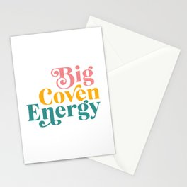 Big Coven Energy Stationery Cards