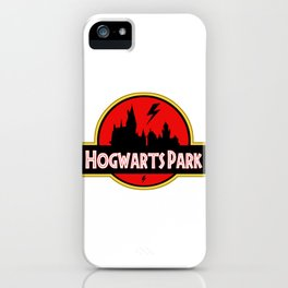 Hogwart Park iPhone Case