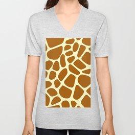 Giraffe  Vector best idea about animals Unisex V-Neck