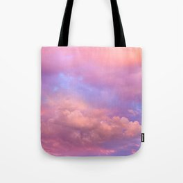 See the Dawn (Dawn Clouds Abstract) Tote Bag