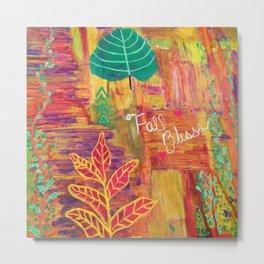 Fall Bliss Metal Print