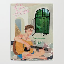Elio - Call me by your Name Poster