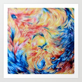 Phoenix Rising - Andrew Kaminski Art Art Print